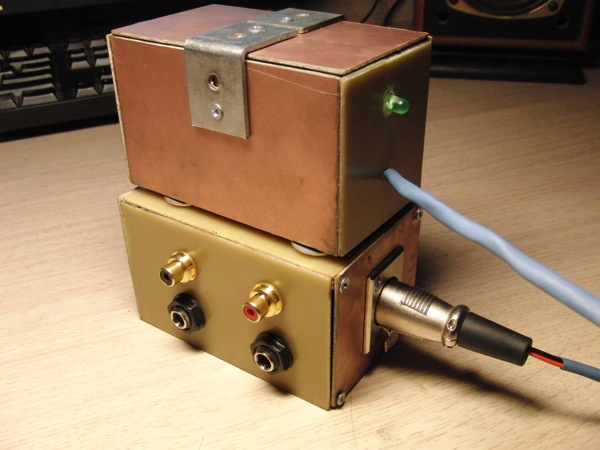 Phono preamp in a box