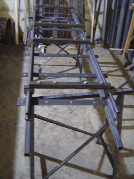 Rails, ready for welding