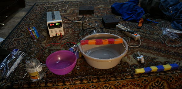 A low-end automated household plant watering system
